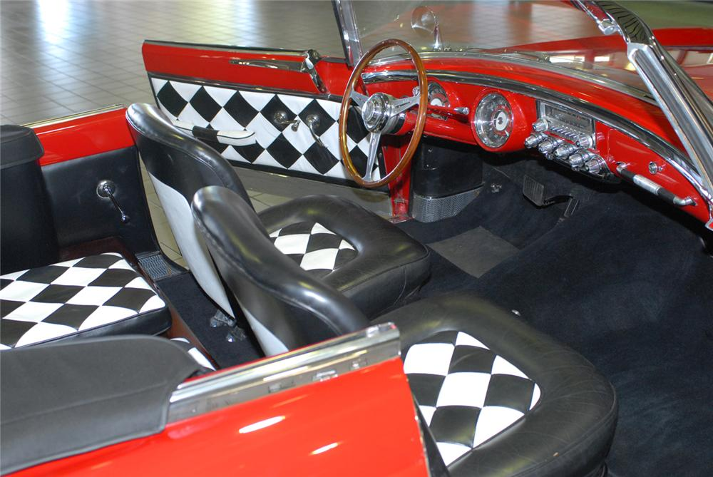 1954 DODGE FIREARROW IV CONVERTIBLE CONCEPT CAR - Interior - 43646
