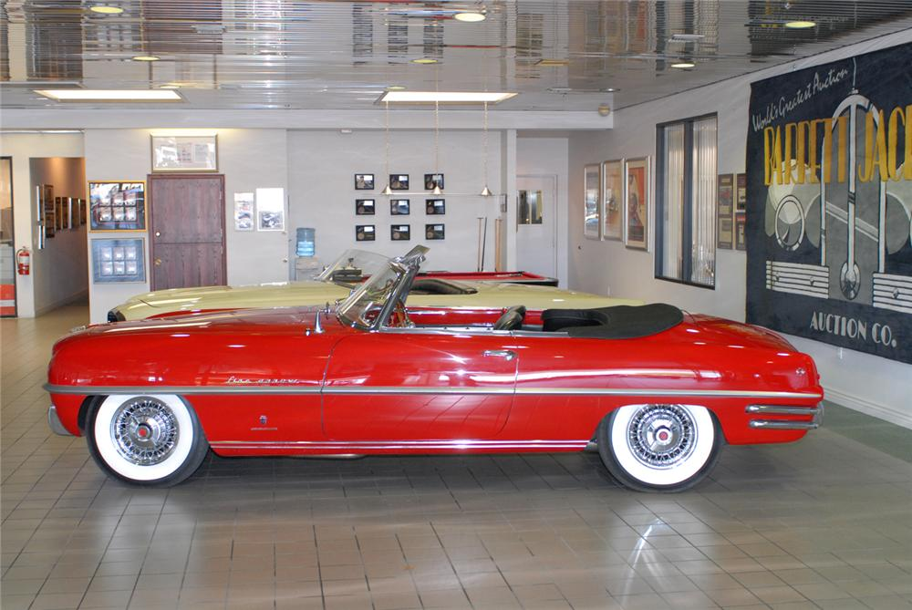 1954 DODGE FIREARROW IV CONVERTIBLE CONCEPT CAR - Side Profile - 43646