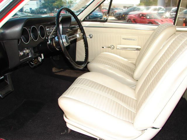1966 PONTIAC GTO RE-CREATION COUPE - Interior - 43650
