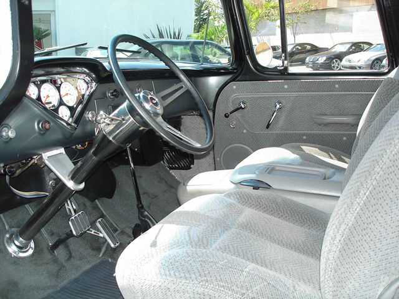 1957 CHEVROLET CUSTOM PICKUP - Interior - 43652