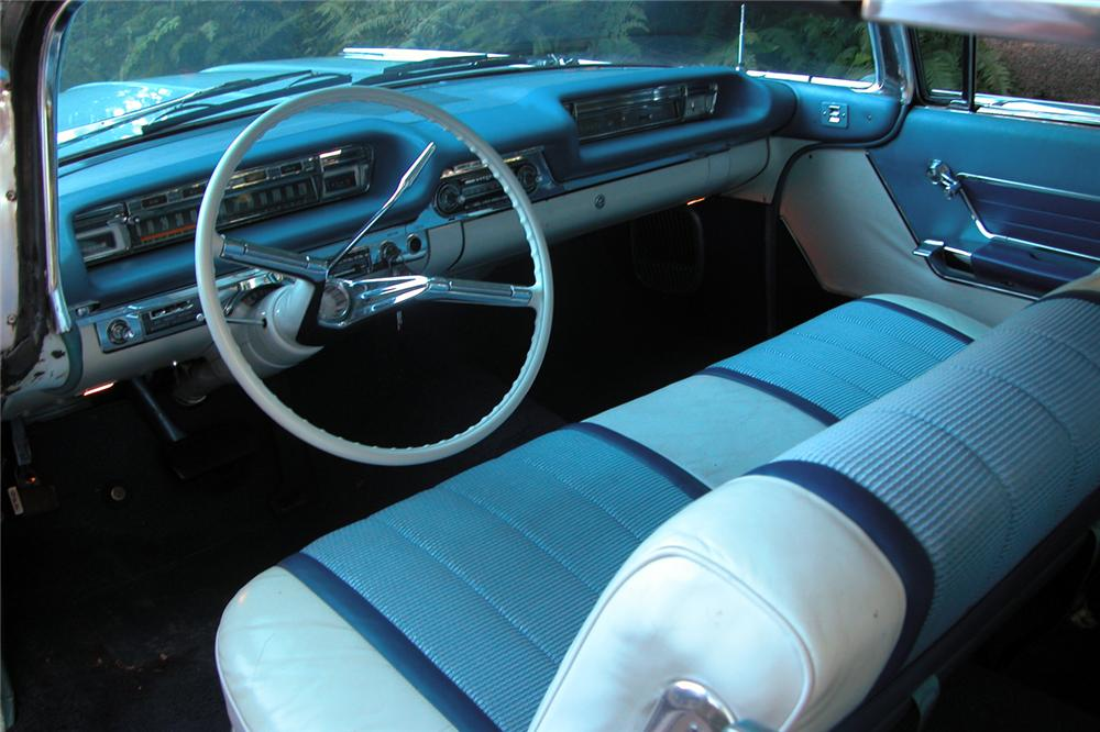 1959 OLDSMOBILE 98 2 DOOR BUBBLE TOP - Interior - 43653