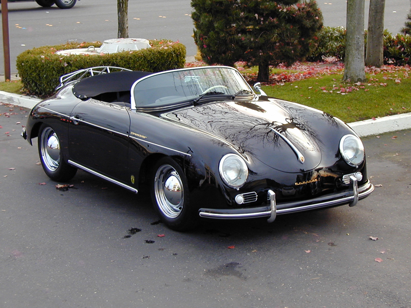 1957 PORSCHE 356 SPEEDSTER RE-CREATION - Front 3/4 - 43655