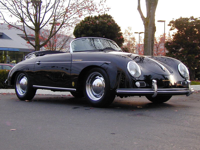 1957 PORSCHE 356 SPEEDSTER RE-CREATION - Side Profile - 43655