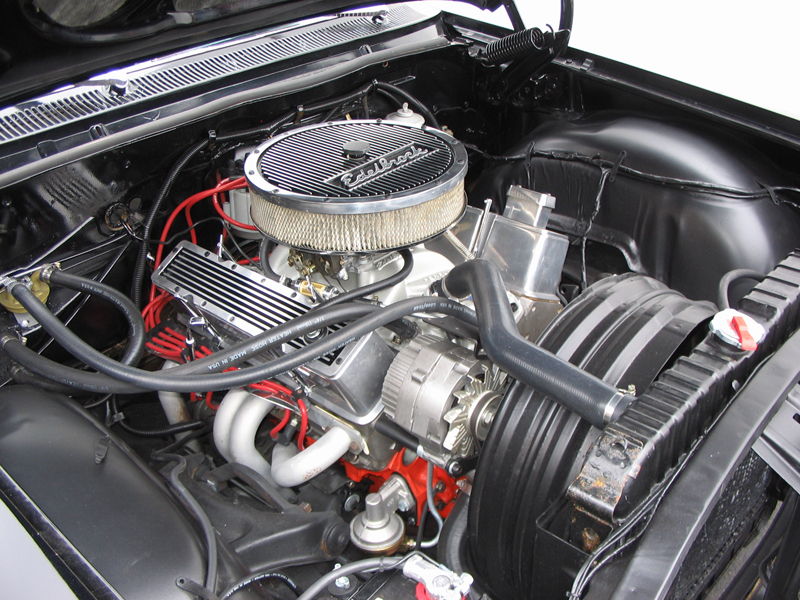1962 CHEVROLET IMPALA CUSTOM COUPE - Engine - 43658