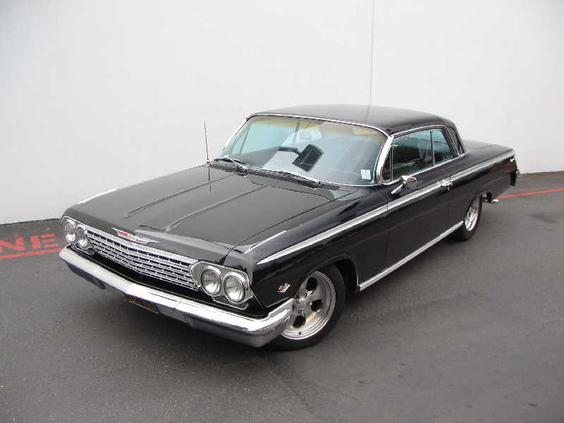 1962 CHEVROLET IMPALA CUSTOM COUPE - Side Profile - 43658