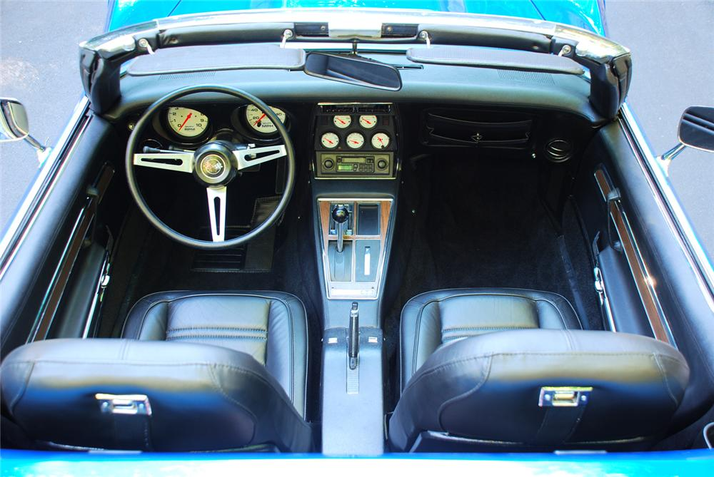 1972 CHEVROLET CORVETTE CUSTOM CONVERTIBLE - Interior - 43661