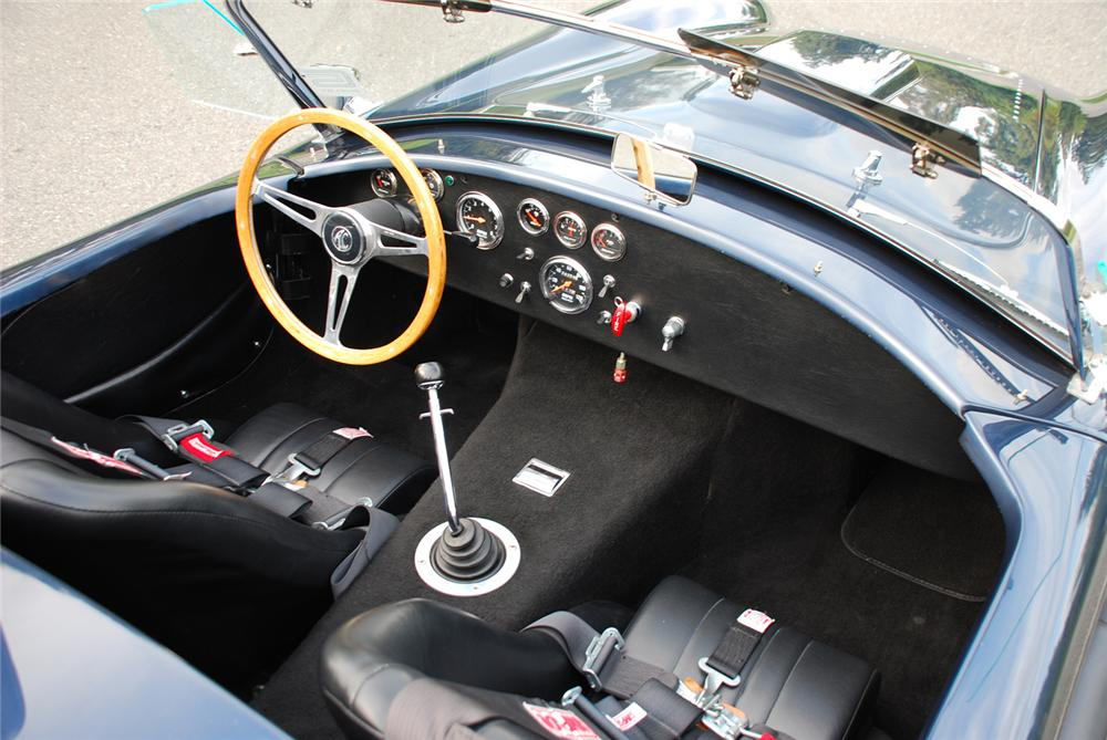 1969 SHELBY COBRA ROADSTER RE-CREATION - Interior - 43665