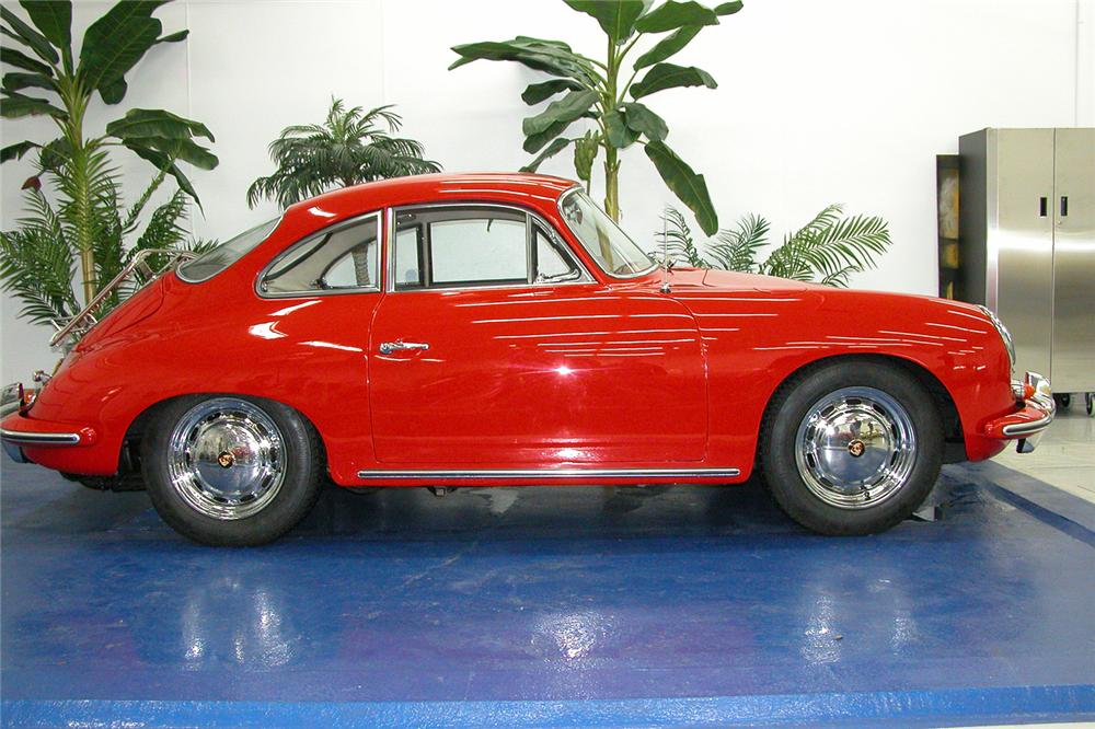 1964 PORSCHE 356C COUPE - Side Profile - 43669