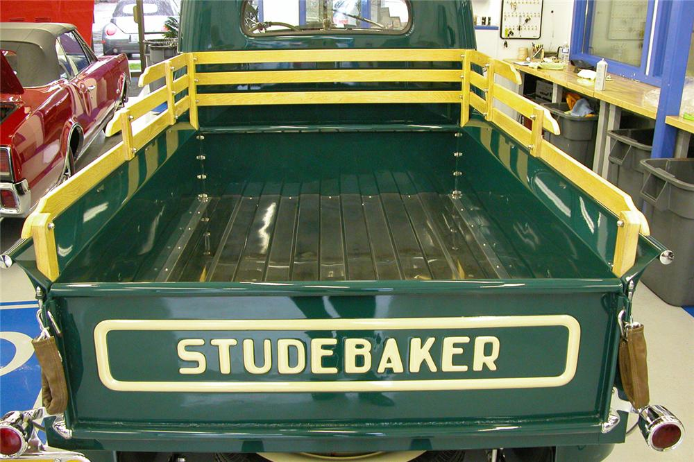 1947 STUDEBAKER PICKUP - Side Profile - 43676