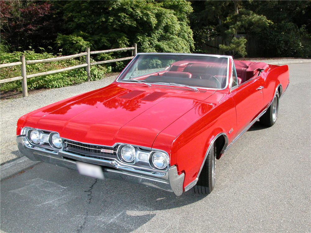 43679_Front_3 4_Web 1967 oldsmobile 442 convertible 43679  at bayanpartner.co