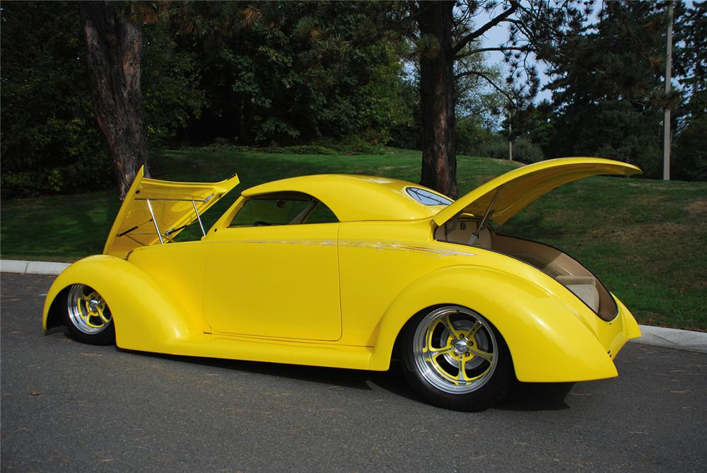 1939 FORD ROADSTER STREET ROD - Side Profile - 43680