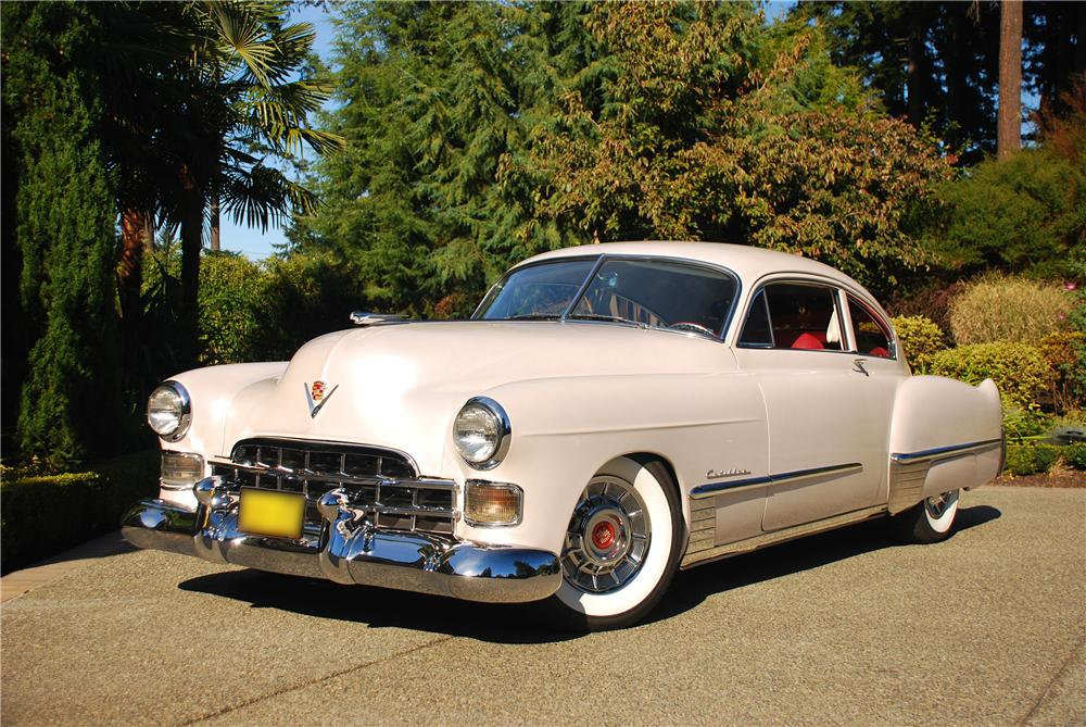 1948 CADILLAC SERIES 62 CUSTOM 2 DOOR HARDTOP - Front 3/4 - 43682