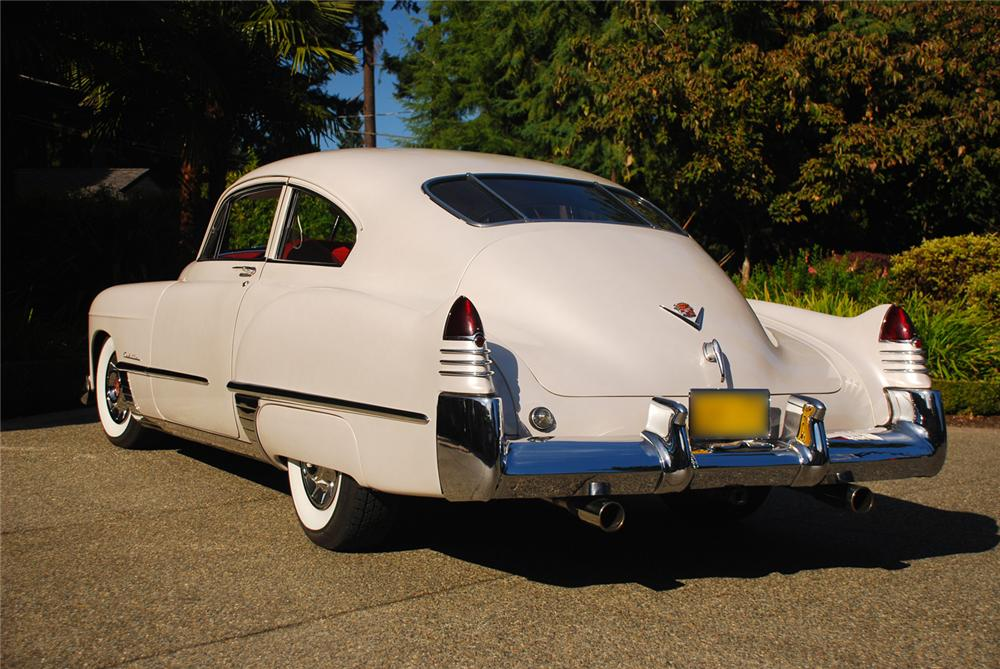 1948 CADILLAC SERIES 62 CUSTOM 2 DOOR HARDTOP - Rear 3/4 - 43682