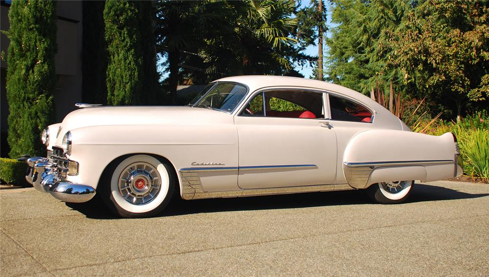 1948 CADILLAC SERIES 62 CUSTOM 2 DOOR HARDTOP - Side Profile - 43682