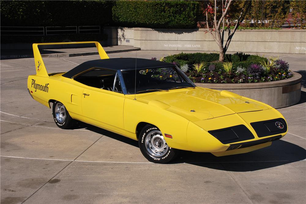 1970 PLYMOUTH SUPERBIRD 2 DOOR HARDTOP - Front 3/4 - 43684