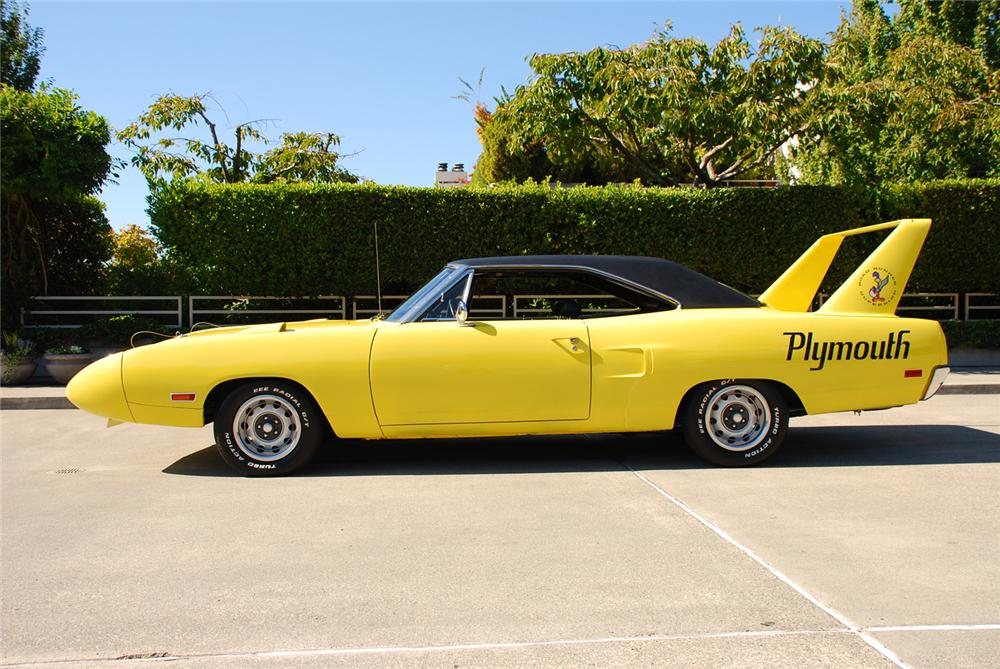 1970 PLYMOUTH SUPERBIRD 2 DOOR HARDTOP - Side Profile - 43684