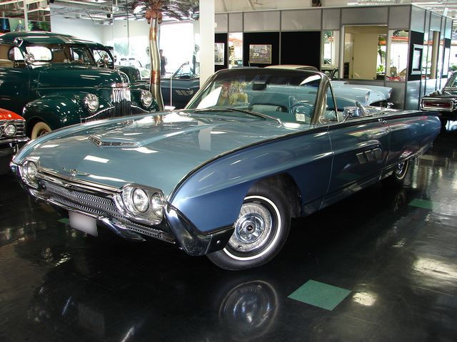 1963 FORD THUNDERBIRD CONVERTIBLE - Front 3/4 - 43690