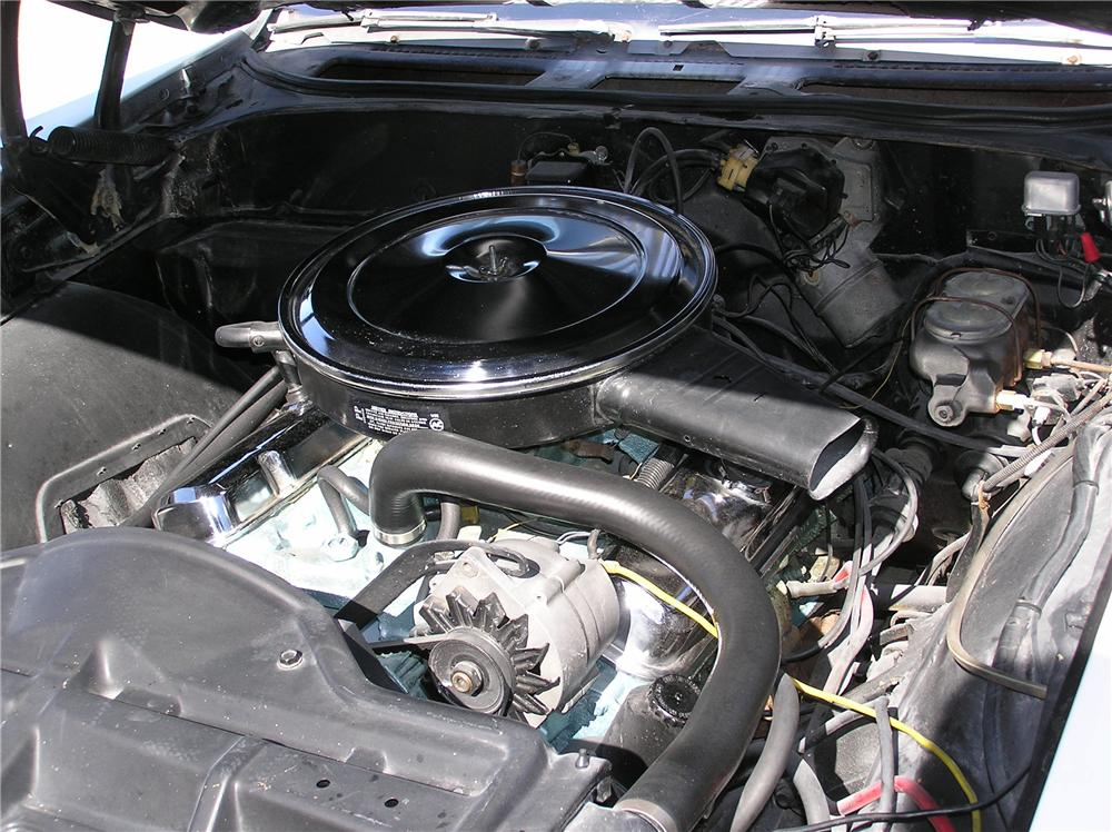 1968 PONTIAC GTO CONVERTIBLE - Engine - 43695
