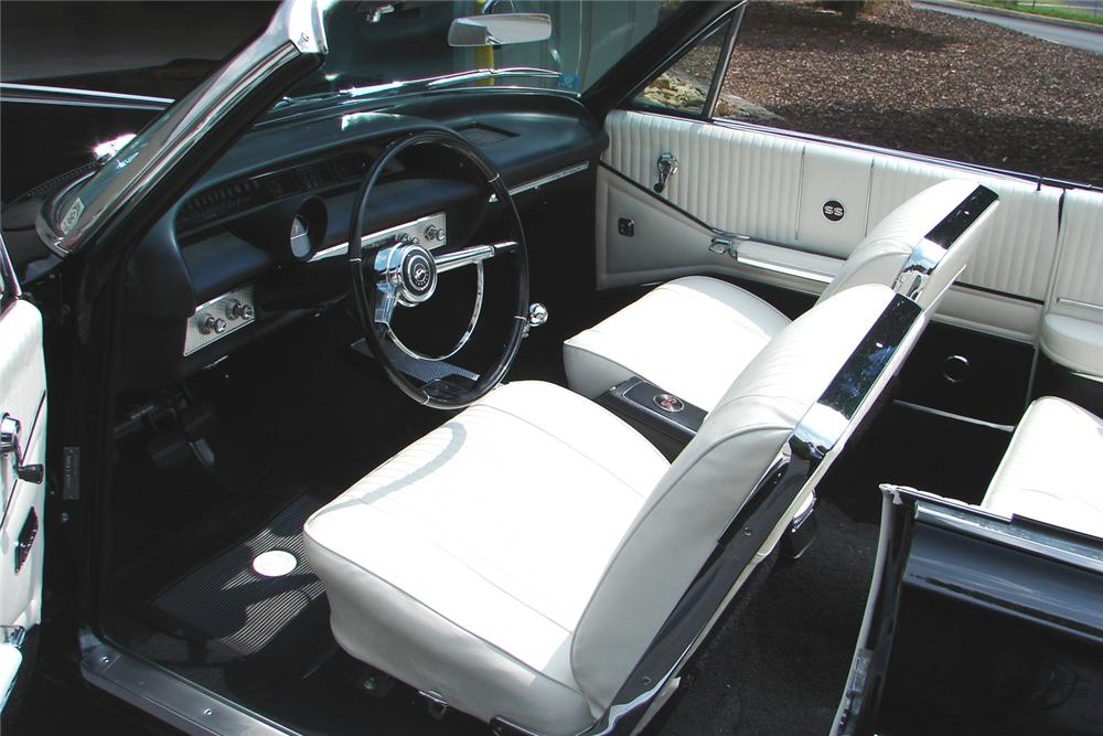 1964 CHEVROLET IMPALA SS CONVERTIBLE - Interior - 43699