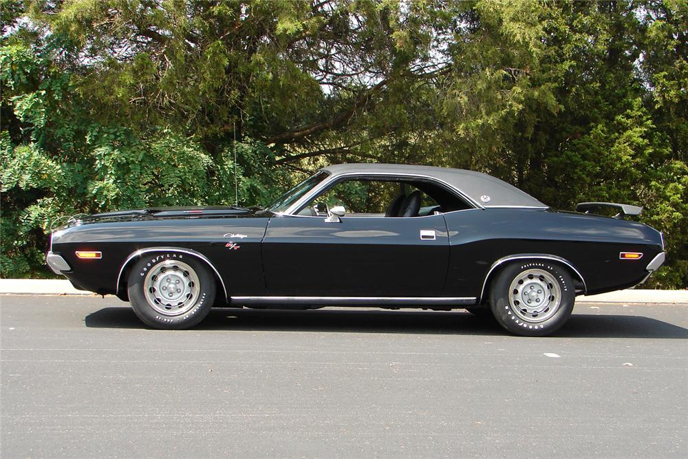 1970 DODGE CHALLENGER R/T SE 2 DOOR HARDTOP - Side Profile - 43702