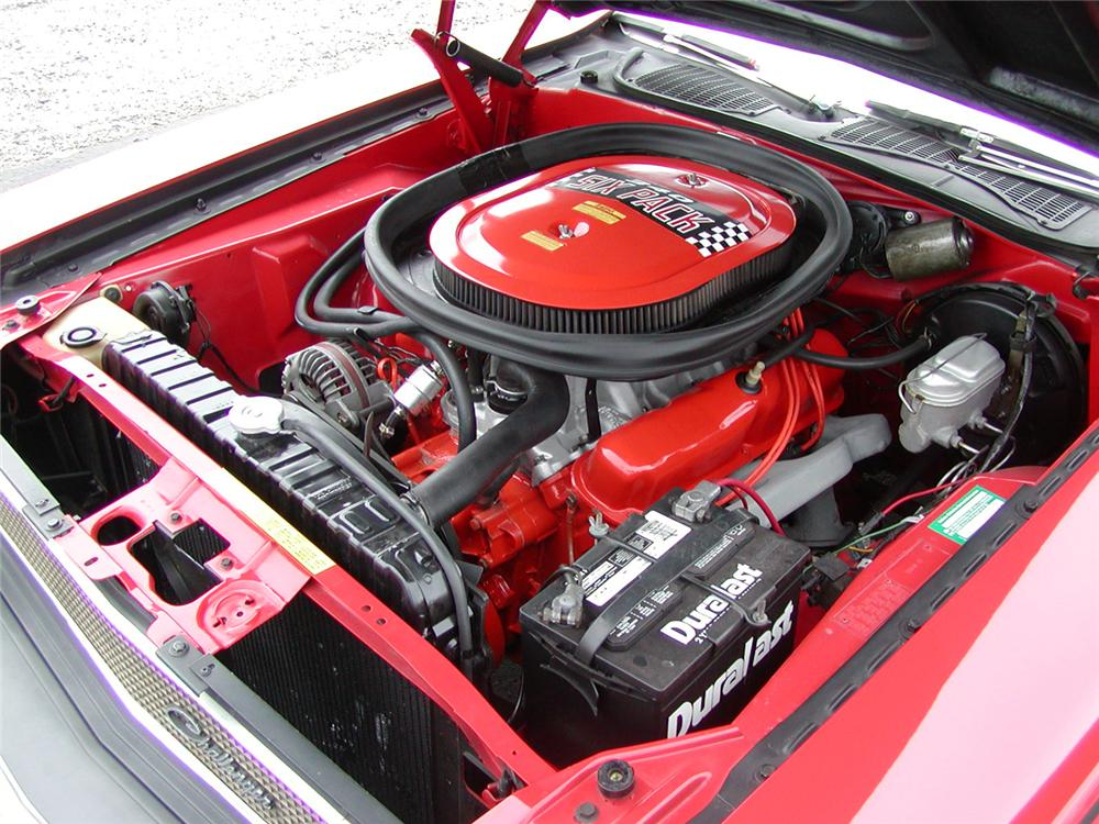 1970 DODGE CHALLENGER T/A SPORT COUPE - Engine - 43706