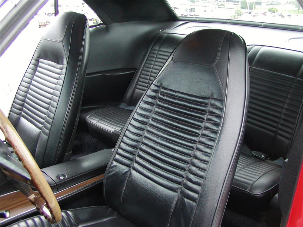 1970 DODGE CHALLENGER T/A SPORT COUPE - Interior - 43706