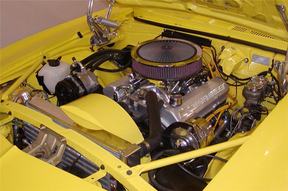 1969 CHEVROLET CAMARO RS/SS CUSTOM CONVERTIBLE - Engine - 43718