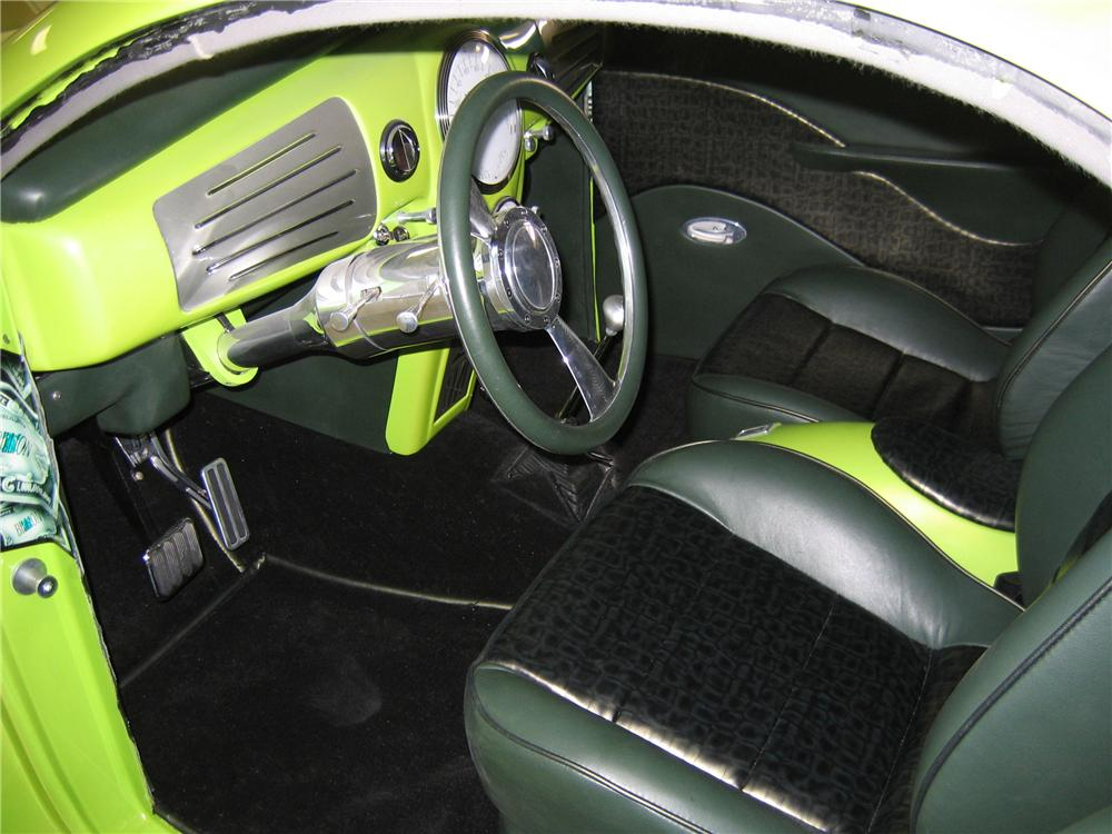 1939 LINCOLN ZEPHYR CUSTOM RE-CREATION COUPE - Interior - 43720