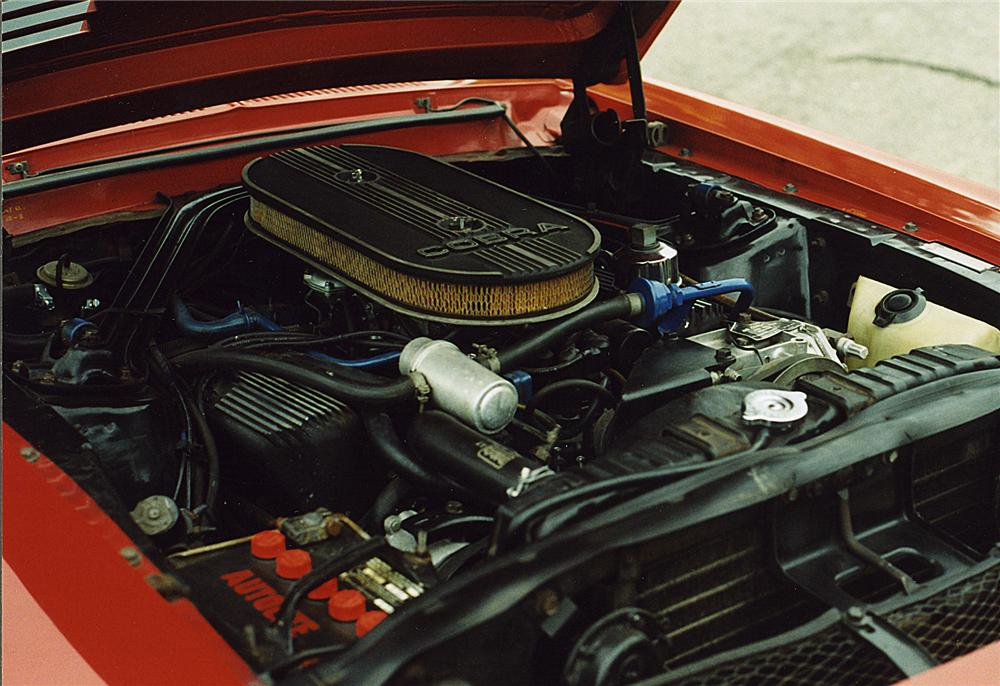 1968 SHELBY GT500 CONVERTIBLE - Engine - 43733