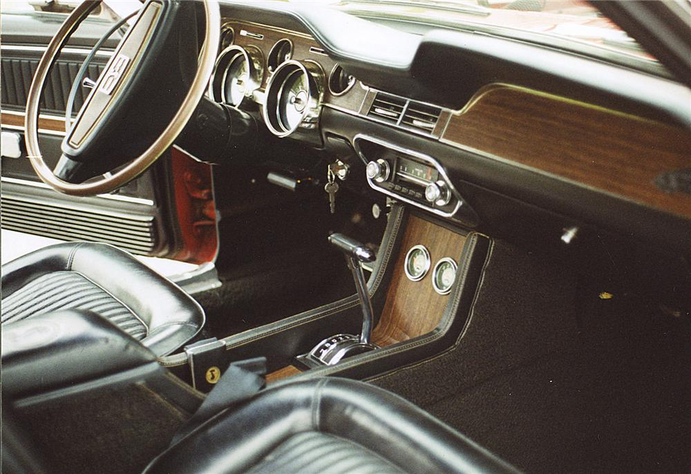 1968 SHELBY GT500 CONVERTIBLE - Interior - 43733