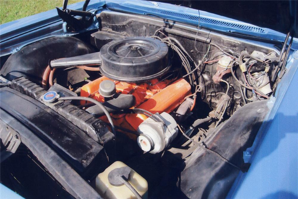1966 CHEVROLET IMPALA SS CONVERTIBLE - Engine - 43736