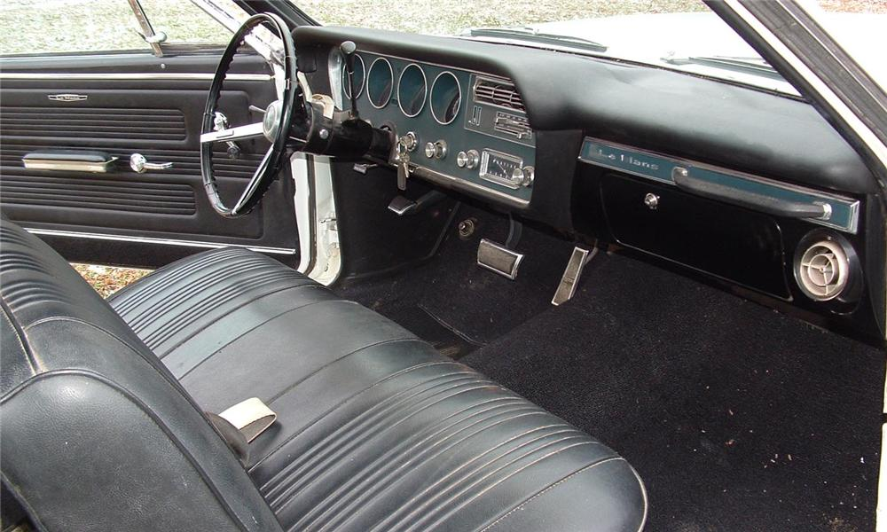1967 PONTIAC LEMANS COUPE - Interior - 43737