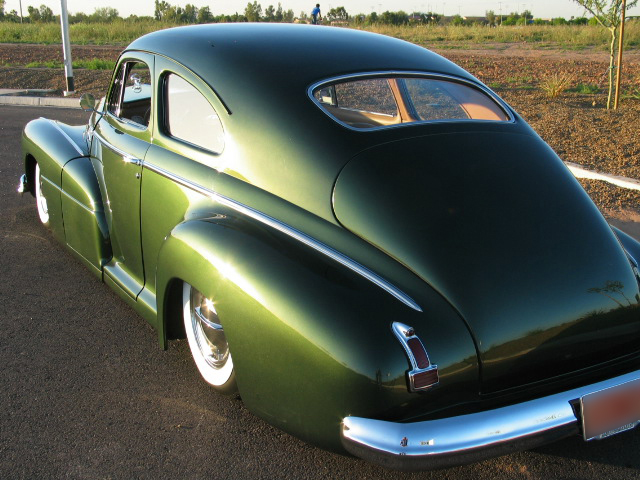 1948 BUICK SPECIAL CUSTOM 2 DOOR SEDANETTE - Rear 3/4 - 43738