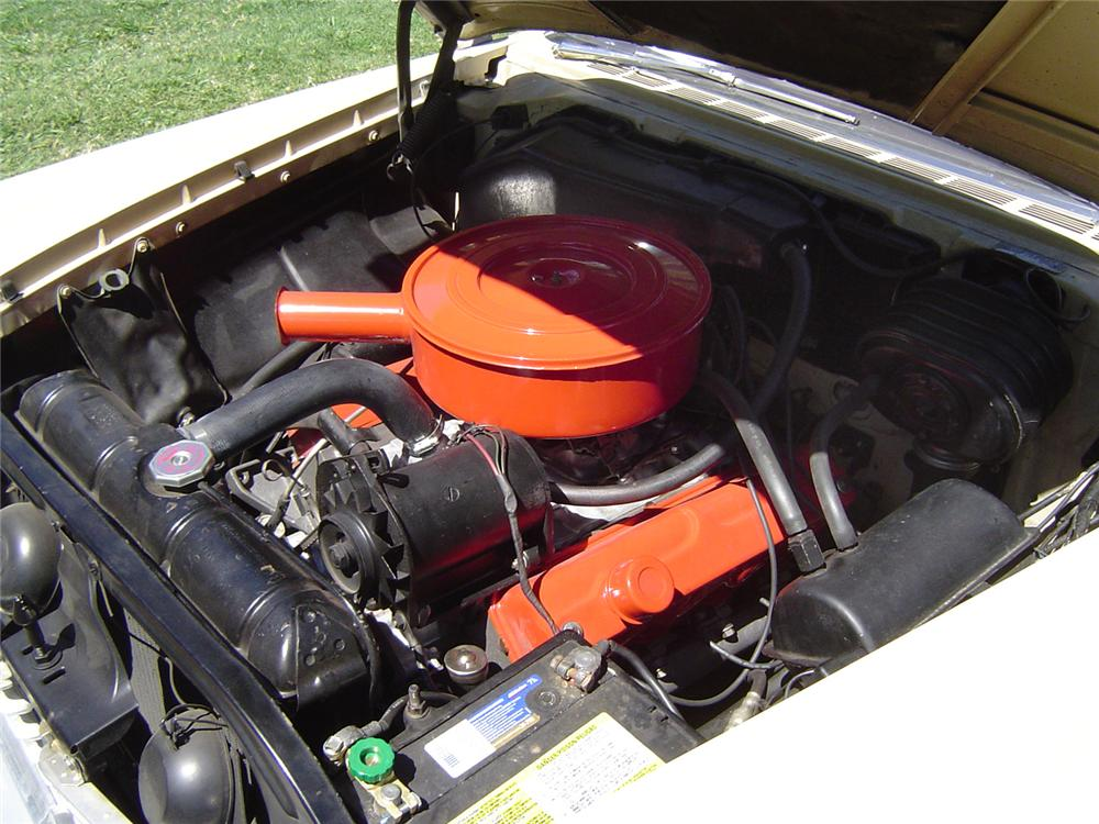 1959 PLYMOUTH SPORT FURY CONVERTIBLE - Engine - 43745
