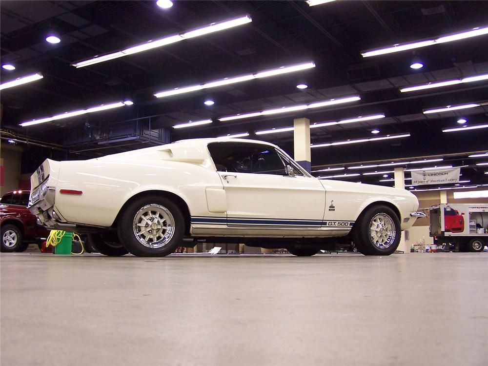 1968 FORD MUSTANG SHELBY GT500 FASTBACK TRIBUTE - 43753