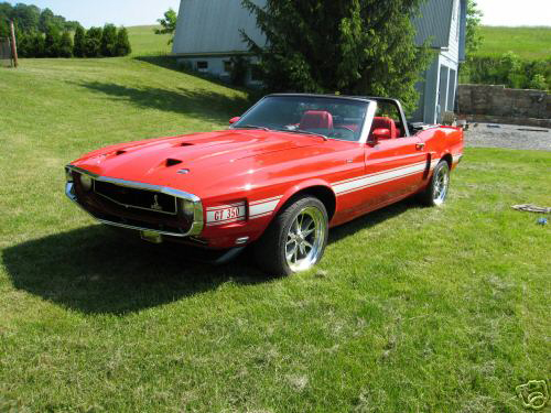 1970 FORD MUSTANG SHELBY GT350 RE-CREATION - Front 3/4 - 43755