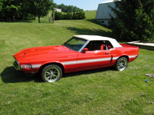 1970 FORD MUSTANG SHELBY GT350 RE-CREATION - Side Profile - 43755