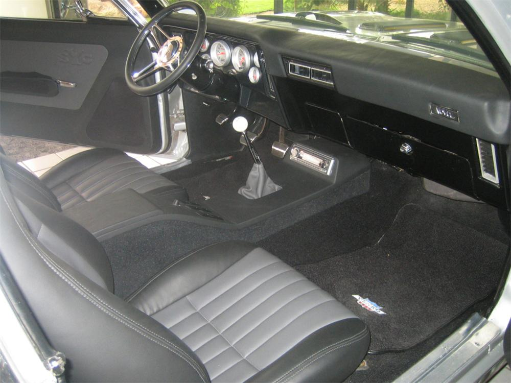 1972 CHEVROLET NOVA SS YENKO RE-CREATION HARDTOP - Interior - 43759