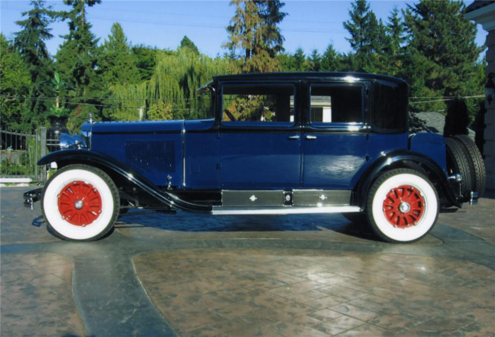 1929 CADILLAC 4 DOOR SEDAN - Side Profile - 43771