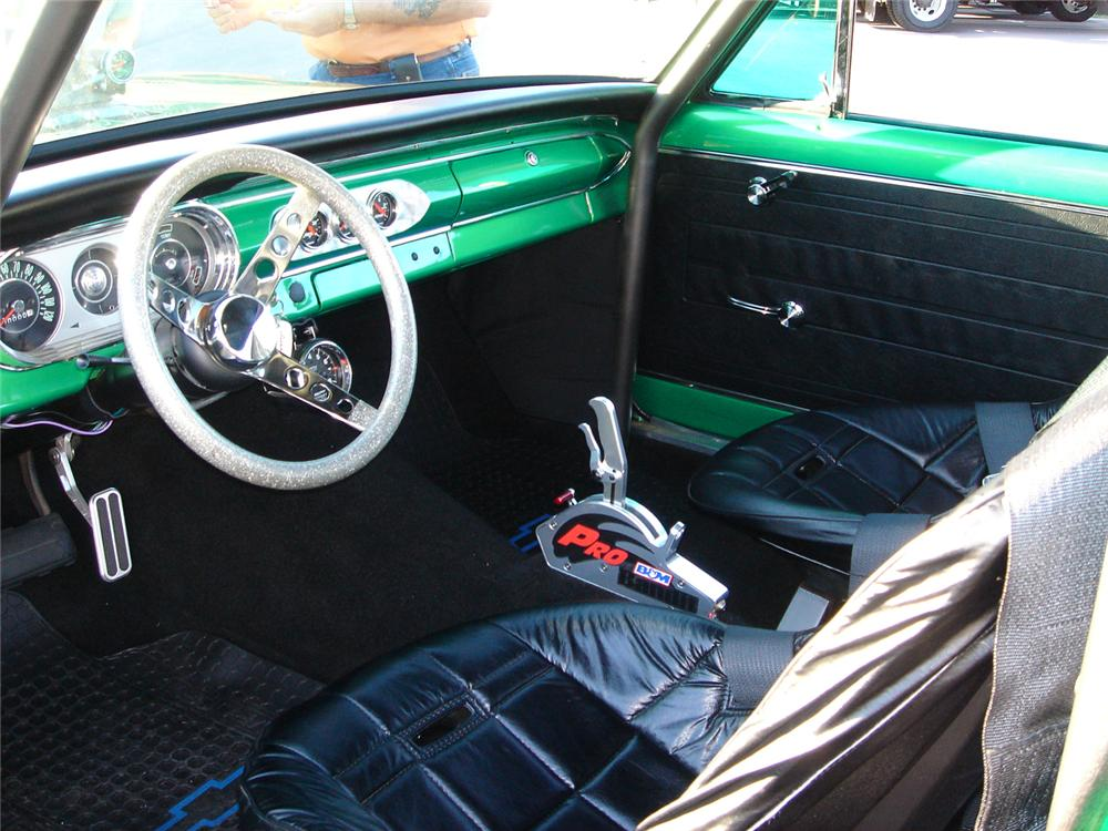 1964 CHEVROLET NOVA CUSTOM COUPE - Interior - 43777