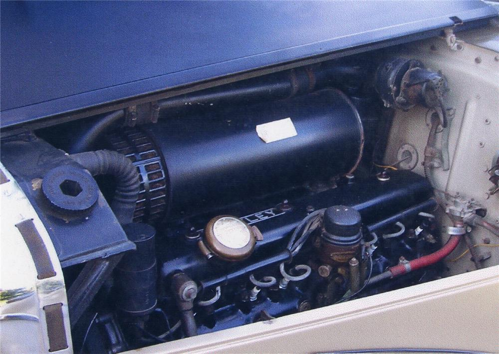 1953 BENTLEY R-TYPE SALOON - Engine - 43779