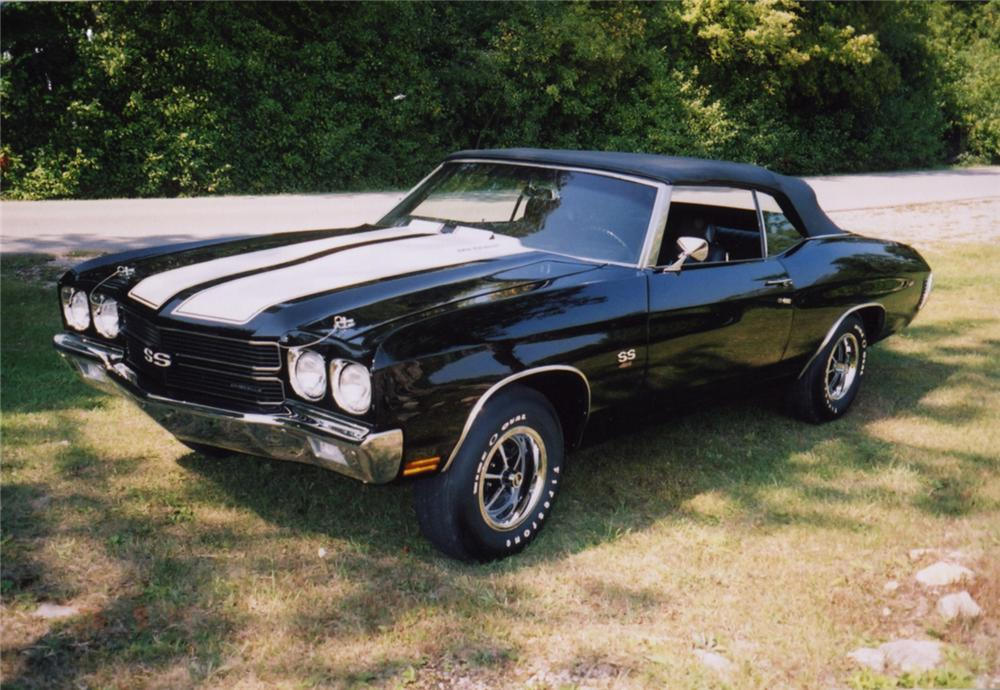 1970 CHEVROLET CHEVELLE SS CONVERTIBLE - Misc 1 - 43780
