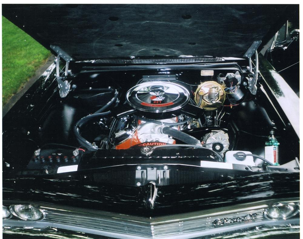 1966 CHEVROLET IMPALA SS CONVERTIBLE - Engine - 43781