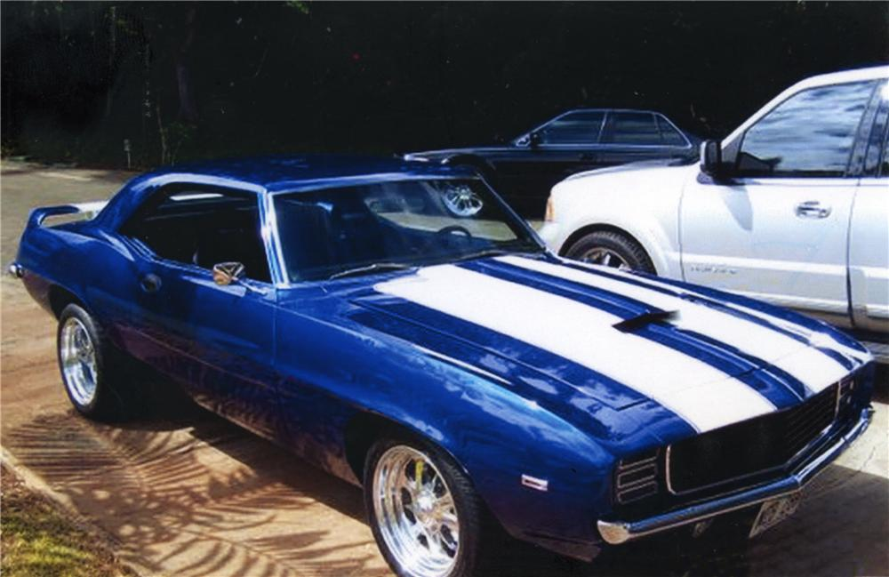 1969 CHEVROLET CAMARO Z/28 RS CUSTOM COUPE - Front 3/4 - 43783
