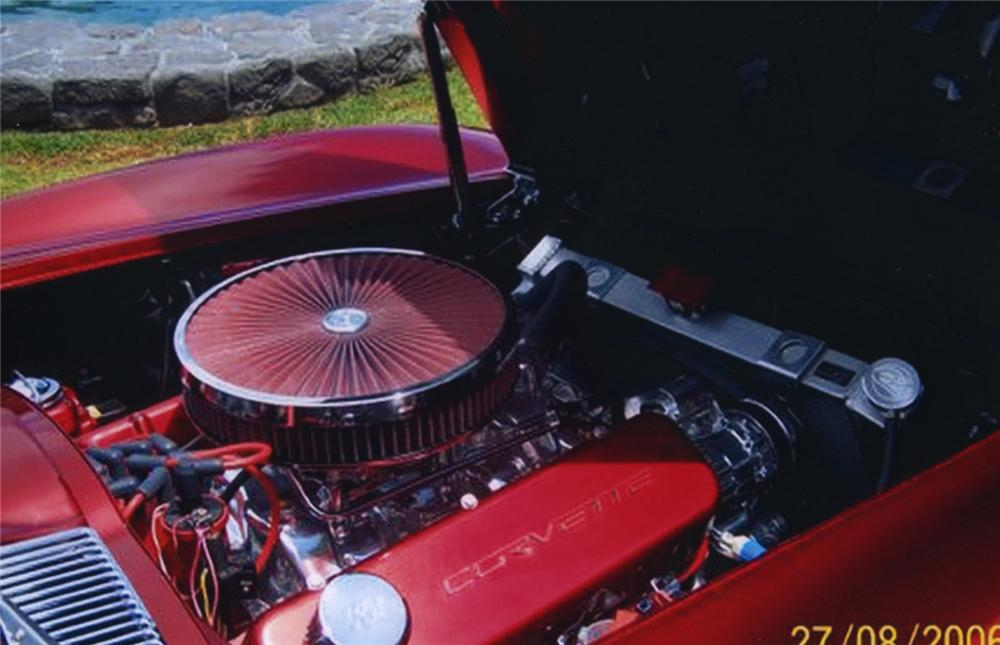 1966 CHEVROLET CORVETTE 454 CUSTOM COUPE - Engine - 43784