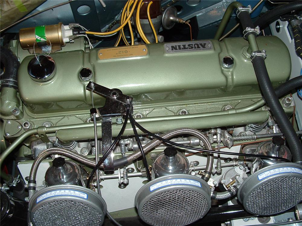 1962 AUSTIN-HEALEY 3000 MARK II ROADSTER - Engine - 43789