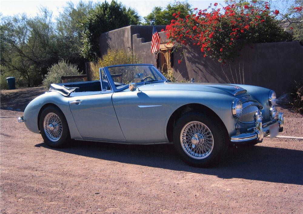 1963 AUSTIN-HEALEY 3000 MARK II CONVERTIBLE - Front 3/4 - 43790