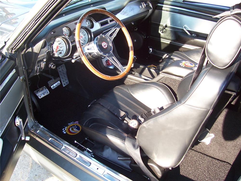 1967 FORD MUSTANG RE-CREATION CUSTOM FASTBACK - Interior - 43793