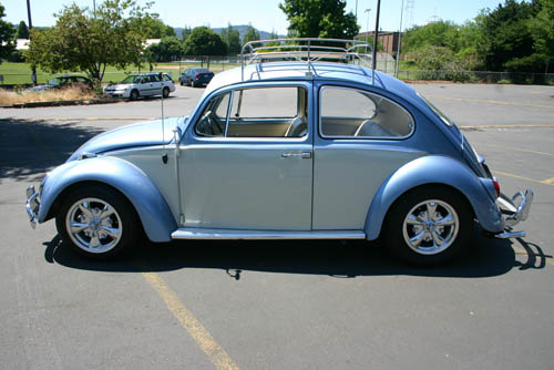 1966 VOLKSWAGEN BEETLE COUPE - Side Profile - 43796
