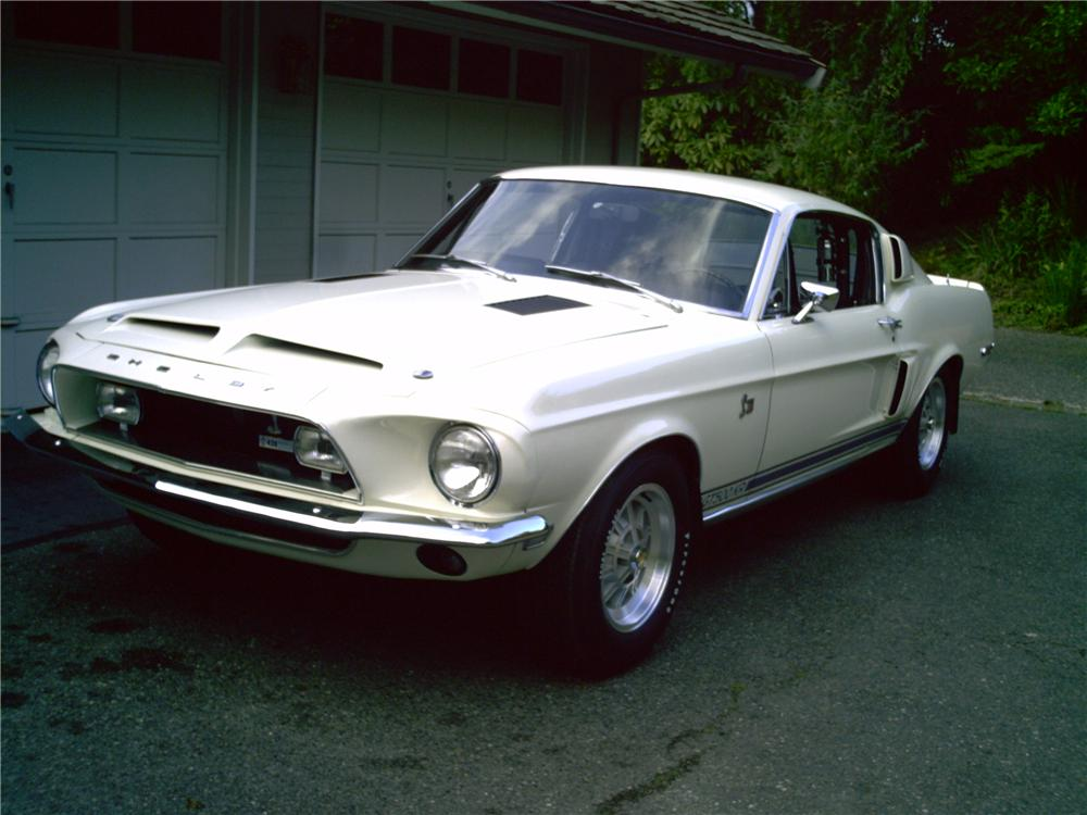 1968 SHELBY GT500 KR FASTBACK - Front 3/4 - 43816
